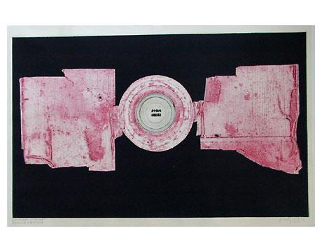 Reinhold koehler decollage imprim moderne kunst for Kunst der moderne